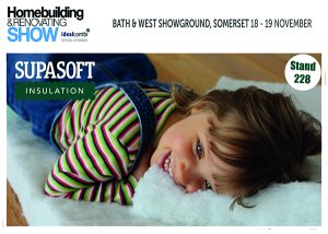 See SupaSoft Insulation on stand 228 at HB&R Bath